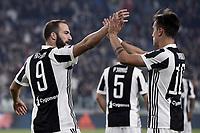 Goal celebrationesultanza gol Gonzalo Higuain<br /> Torino 25-10-2017 Allianz Stadium Calcio Serie A 2017/2018 Juventus - Spal Foto Image Sport / Insidefoto