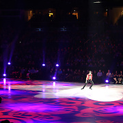 U.S. Champion Ryan Bradley performs on the ice during the Stars on Ice Figure Skating tour stop at the Amway Center on Sunday, April 6, 2014 in Orlando, Florida. (AP Photo/Alex Menendez)