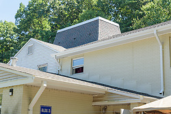 Roof Replacement For Lower Fairfield Center 148 Silvermine Avenue Norwalk, CT<br /> Connecticut State Project No: BI-NN-673<br /> Architect: Kenneth Boroson Architects, LLC  Contractor: Greenwood Industries, Inc<br /> James R Anderson Photography New Haven CT photog.com<br /> Date of Photograph: 30 June 2016<br /> Camera View: 09 - Building 3
