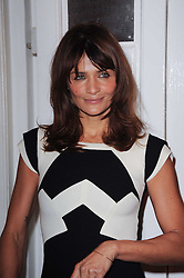 HELENA CHRISTENSEN at a screening of the short film 'Away We Stay' directed by Edoardo Ponti held at The Electric Cinema, Portobello Road, London W1 on 15th November 2010.