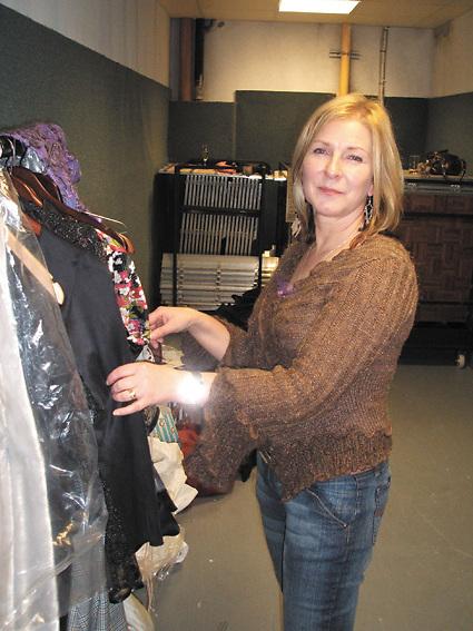 Shannon-based fashion designer Linda Wall at the Diamonds and Divas night at Muckross Park Hotel in Kilarney