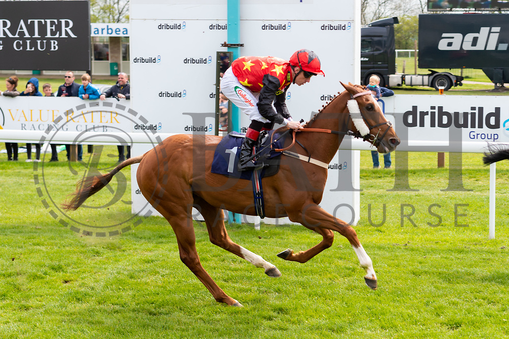 Agent Gibbs ridden by Shane Kelly and trained by John O'Shea in the Empire Fighting Chance Handicap race.  - Ryan Hiscott/JMP - 06/05/2019 - PR - Bath Racecourse- Bath, England - Kids Takeover Day - Monday 6th April 2019