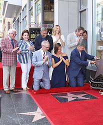 Jennifer Garner Honored With Star On The Hollywood Walk Of Fame. 20 Aug 2018 Pictured: Jennifer Garner, Bryan Cranston, Steve Carell, Judy Greer. Photo credit: Jaxon / MEGA TheMegaAgency.com +1 888 505 6342