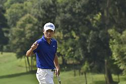 October 15, 2017 - Kuala Lumpur, MALAYSIA - Kang Sung-hoon of South Korea in action during the CIMB Classic 2017 day 4 on October 15, 2017 at TPC Kuala Lumpur, Malaysia. (Credit Image: © Chris Jung via ZUMA Wire)