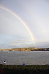 Rainbow, New Quay, Ceredigion, Wales