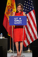 Queen Letizia of Spain attended 'Let Girls Learn' initiative, at Matadero on June 30, 2016 in Madrid