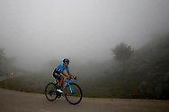 Richard Carapaz (ECU, Movistar) during the 73th Edition of the 2018 Tour of Spain, Vuelta Espana 2018, Stage 15 cycling race, 15th stage Ribera de Arriba - Lagos de Covadonga 178,2 km on September 9, 2018 in Spain - Photo Luca Bettini/ BettiniPhoto / ProSportsImages / DPPI