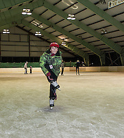 Gilford Parks and Recreation Skating Party at Arthur Tilton Ice Rink to start of the February Vacation week.  Karen Bobotas/for the Laconia Daily Sun