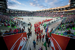 Team GER - Opening Ceremony - Alltech FEI World Equestrian Games™ 2014 - Normandy, France.<br /> © Hippo Foto Team - Jon Stroud<br /> 24/06/14