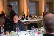 RICHARD LONG, Lisson Gallery dinner, Banqueting House. London. 15 October 2013