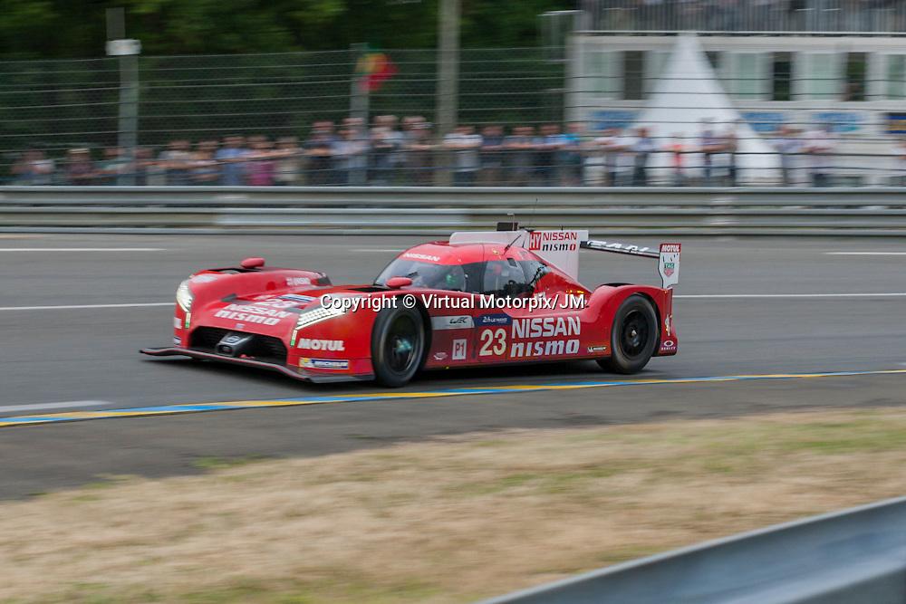#23 Nissan GT-R LM Nismo, Nissan Motorsport, Max Chilton, Jan Mardenborough, Olivier Pla, Le Mans 24H 2015
