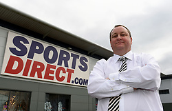 File photo dated 21/03/16 of Sports Direct founder Mike Ashley. The retailer has posted a 58.7\% plunge in annual underlying pre-tax profits to £113.7 million after being left exposed to the pound's decline following the Brexit vote.