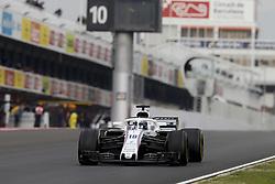 March 1, 2018 - Barcelona, Spain - Motorsports: FIA Formula One World Championship 2018, Test in Barcelona, #18 Lance Stroll ( CAN, Williams Martini Racing) (Credit Image: © Hoch Zwei via ZUMA Wire)