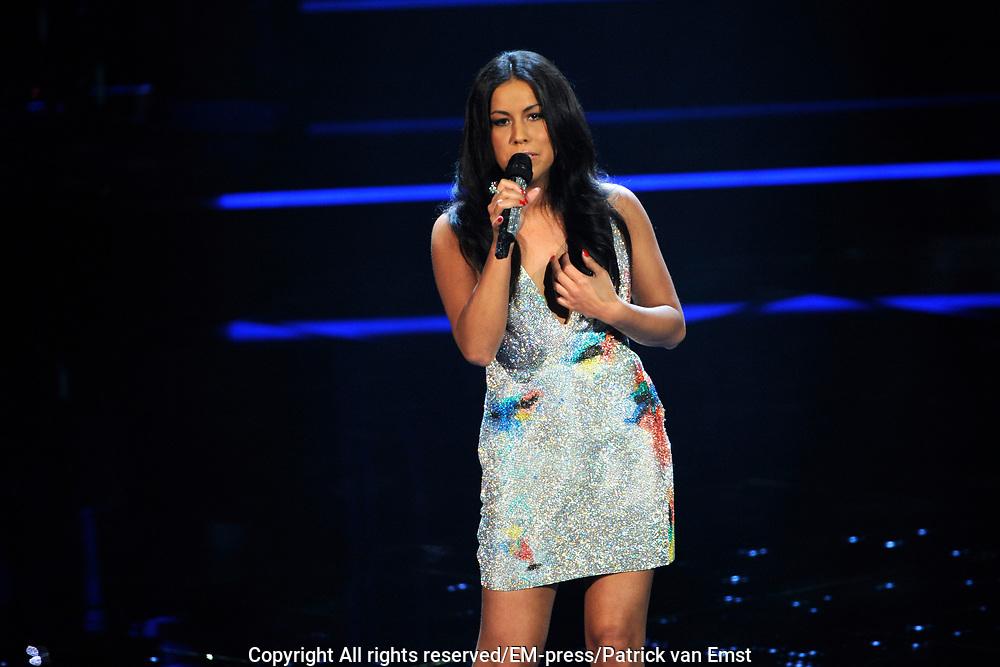 Eerste Live Show van de Voice of Holland in Studio 22 in Hilversum.<br /> <br /> Op de foto:  Jomy Boky