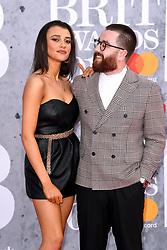 Daisy Maskell (left) and Tom Green attending the Brit Awards 2019 at the O2 Arena, London. Photo credit should read: Doug Peters/EMPICS Entertainment. EDITORIAL USE ONLY