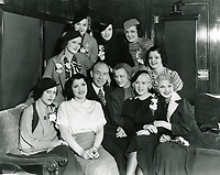 1933 Earl Carroll and his showgirls