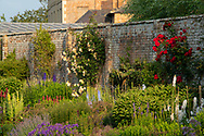 The Herbaceous Border at Waterperry Gardens, Waterperry, Wheatley, Oxfordshire, UK