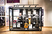 Museum display in the Country Music Hall of Fame in Nashville, TN.