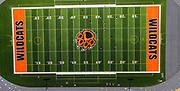 Aerial photograph of the new Verona Area High School Football Field; Verona, Wisconsin, USA