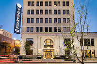 The Watermark Hotel located in the old State Office building in downtown Baton Rouge is part of the Autograph Collection, an independent brand of Marriott Hotels. The hotel includes more than 1,700 square feet of meeting space, a fitness center and two restaurants. The upscale The Gregory and a deli called Milford's on Third.