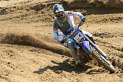 June 17, 2018 - Ottobiano, Lombardia, Italy - Jago Geerts of Kemea Yamaha Yamalube Racinf Team MX2 team during the Fiat Professional MXGP of Lombardia race at Ottobiano Motorsport circuit on June 17, 2018 in Ottobiano (PV), Italy. (Credit Image: © Massimiliano Ferraro/NurPhoto via ZUMA Press)