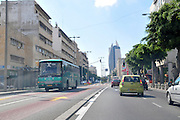 Israel, Haifa, Haatzmaut (Independence) Boulevard in downtown