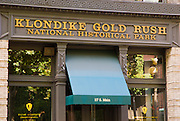 Klondike Gold Rush National Historic Park,  Pioneer Square, Seattle, Washington