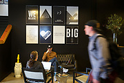 Inspiration posters hang in the lobby of Swift, a digital ad agency in Northwest Portland. Randy L. Rasmussen/Staff