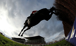Foxtail Hill ridden by Sam Twiston-Davies during day one of the Showcase at Cheltenham Racecourse