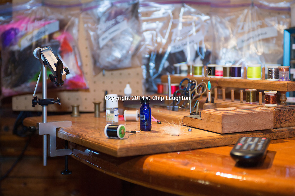 fly fishing stock photo image