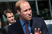 Prince William, The Duke of Cambridge, during a visit to Tsutaya book store in Daikanyama as Part of the GREAT Britain international marketing campaign, Tokyo, Japan. Saturday February 28th 2015. Prince William, who is travelling without his pregnant wife, Kate Middleton, is making his first visit to Japan on a 4 day tour before travelling onto China on Sunday