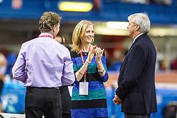 Millrose Games: meet officials Eamonn Coughlin, Mary Wittenberg, Ray Flynn