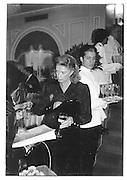 Mrs. Andrew Sinclair,  Charity Fashion Show, Mayfair Intercontinental Hotel. 1986© Copyright Photograph by Dafydd Jones 66 Stockwell Park Rd. London SW9 0DA Tel 020 7733 0108 www.dafjones.com