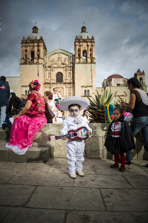 For several weeks in 2014 I traveled through southern Mexico, including to Oaxaca, where this picture was taken as people geared up for Dia de los Muertos (Day of the Dead). <br /> <br /> Each day in Mexico I would ask myself the perplexing question, Why did I not come here sooner? Years earlier I had made day-trips into Mexico's Caribbean tourist destinations and into Tijuana, but this makes for a fairly superficial experience of the country.<br /> <br /> I asked this question because Mexico is so close; it is my own country's neighbor, geographically speaking. It features prominently in our political debates. And for all the controversy over immigration, migrants from Mexico are part of the fabric of the United States. So why did I travel to scores of other countries before making time for an immediate neighbor?<br /> <br /> One of my joys in Mexico was meeting Mexicans who for part of their lives had lived and worked in the United States. We'd encounter one another in restaurants, on beaches, on sidewalks, and even in cemeteries, and I never tired of hearing stories about their experiences in the United States and their hopes in life.<br /> <br /> There's much to love about Mexico, and much to learn. If you're an American and making a list of countries you'd like to visit, consider putting Mexico near the top.<br /> <br /> ___<br /> http://www.reflectionsontheroad.com/12-photos-day-of-the-dead-in-oaxaca-mexico/