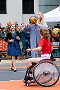 Koningsdag 2019 in Amersfoort / Kingsday 2019 in Amersfoort.<br /> <br /> Op de foto: Prinses Amalia  ///  Princess Amalia