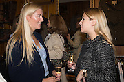 SOPHIE ARMSTRONG; CATHERINE CORNELISSIN, Tatler and Dubarry host an evening with Clare Balding, Dubarry of Ireland, 34 Duke of York's Sq. London. 13 October 2016.