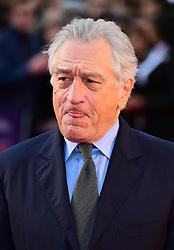 Robert de Niro attending the Closing Gala and International premiere of The Irishman, held as part of the BFI London Film Festival 2019, London.