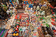 Market souvenir stall in Moslem district of Xian, China