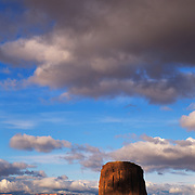 Mitchell Butte in Monument Valley Tribal Park on the Navajo Reservation
