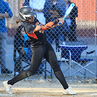(Photograph by Bill Gerth/ for Max Preps/3/28/17) Silver Creek vs Prospect in a BVAL girls varsity softball game at Prospect High School, Saratoga CA on 3/28/17.