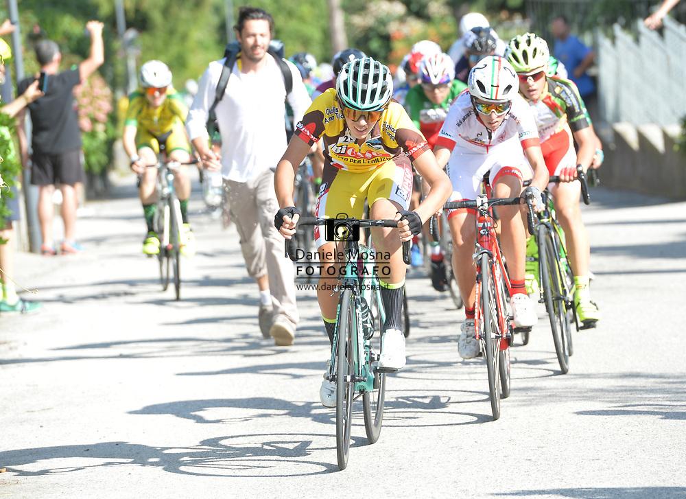 51° COPPA D'ORO - Sabato 8 settembre 2018 Coppa di sera - ESORDIENTI UOMINI I° ANNO – Km 28.7 - Vittoria per Matteo Fiorin (Cicli Fiorin) - 08.9.2018.<br /> Borgo Valsugana, Trentino, Italia.<br /> © DANIELEMOSNA.IT