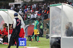 17032018 (Durban) Limbikani Mzava of Arrows leaves the field after recieving a redcard when Orlando Pirates walloped Golden Arrows 2-1 at the ABSA premier league encounter at Princess Magogo Staduim, in Kwa-Mashu, Durban. Pirates has advance their league position to number 2 with 41 points after Sundowns with 42 points lead.Picture: Motshwari Mofokeng/African New Agency/ANA