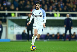 January 5, 2018 - Florence, Italy - Roberto Gagliardini of Internazionale  during the serie A match between ACF Fiorentina and FC Internazionale at Stadio Artemio Franchi on January 5, 2018 in Florence, Italy. (Credit Image: © Matteo Ciambelli/NurPhoto via ZUMA Press)