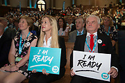 Brexit party members and delegates at an event to introduce prospective parliamentary candidates in central London, United Kingdom on 27th August, 2019.