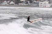 100729 Surfer Lyall Bay