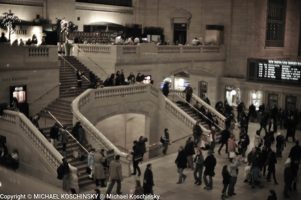 Grand Central Station, East Balcony