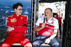 March 15, 2019 - Melbourne, Australia - Motorsports: FIA Formula One World Championship 2019, Grand Prix of Australia, ..Mattia Binotto (ITA, Scuderia Ferrari Mission Winnow), Frederic Vasseur (FRA, Alfa Romeo Racing) (Credit Image: © Hoch Zwei via ZUMA Wire)