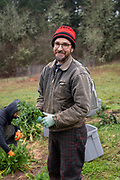 Danny Percich, owner of Full Plate Farm which offers a winter CSA