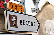 Beaune. The village. Pommard, Cote de Beaune, d'Or, Burgundy, France