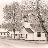 The historic village of Granby Vermont.<br />